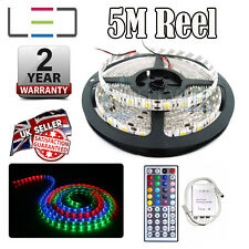 5m 12v RGB LED Strip Light Motorhome Caravan Outdoor Lighting Bright + Remote