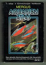 AQUARIEN ATLAS / NACHSCHLAGEWERK DER AQUARISTIK / 950 Farbfotos