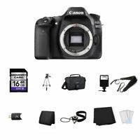 Canon EOS 80D DSLR Camera (Body Only) 16GB Full Kit