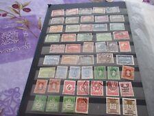 Hongrie lot de 50 timbres oblitérés tous états voir photos REFa4
