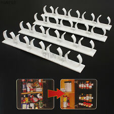 Home Spice Jars Storage Rack Holder Clip Organizer -Holds 20 herb/ Spice Bottles