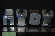 PACK / LOTE  4 X MOTOR  PASO A PASO NEMA 17  SANYO  DENKI IMPRESORA 3D,DYC, CNC.