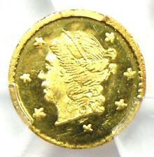 1871 Liberty California Gold Quarter 25C Coin BG-809 - PCGS MS66 - $2,500 Value!