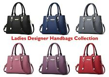 Ladies Handbag Designer Leather Tote Girl Purse Cross Body Party Bag Lotus 78814