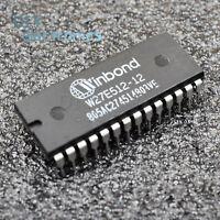 5PCS W27E512-12 W27E512-12A W27E512 EEPROM IC WINBOND Encapsulation:DIP-28