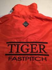 "RIVERSIDE COMMUNITY COLLEGE "" Tiger Fastpitch"" Softball (LARGE) Warmp Jacket"