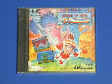 New LEGEND OF HERO TONMA NEC PC-Engine Hu-Card Factory Sealed Import Japan