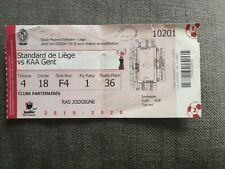 Ticket : Standard de Liège - KAA Gent 26.12.2019