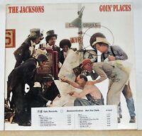 The Jacksons - Goin' Places - Original Promo LP Record Album - Vinyl Near Mint