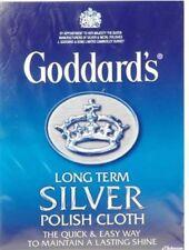 Esmalte de Plata a largo plazo de Goddard Pulido deslustre Paño De Limpieza-Libre P&P