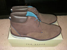 Ted Baker Men's Arkson Ankle Boots Brown (Brown) 9 UK 43 EU - NEW