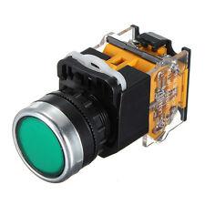 "Push Button Press Emergency Stop Switch 22mm 7/8""1 NO 1 NC 660V 10A Green"