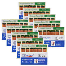100Kits GAPADENT Dental Gutta Percha Point 0.06 35# Color Coded CE 60 Points/Kit