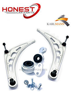 For BMW 3 SERIES E46 1998-2008 FRONT SUSPENSION LOWER WISHBONE ARMS & BUSH KIT