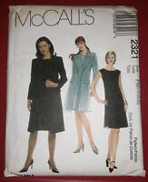 McCall Sewing Pattern 2321