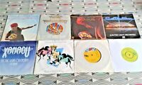"""8  X ELO 7"""" Singles. 6 Picture Sleeve. 6 Vinyl Excellent  2 VG All Shown"""