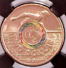 2016  $2 COIN Paralympics - Rio Olympics Coin. CHOICE UNCIRCULATED