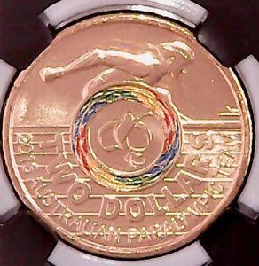 2016  Paralympics - Rio Olympics - $2 GRADED Coin #2