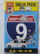 SDCC Comic Con 2014 Handout DIARY OF A WIMPY KID THE LONG HAUL Book 9 sneak peek