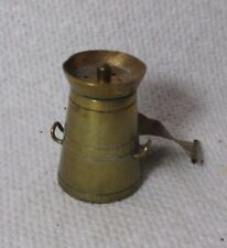 Antique MILK CHURN brass TAPE MEASURE;c1800's,
