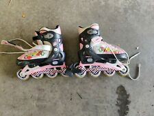 Mongoose Sweet Rose Inline Skates Fits Size 5-8 Adjustable Girls