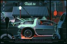 Back to the Future Part 1 Variant Mondo Movie Poster Laurent Durieux BTTF