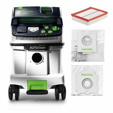 Festool Extracteur Mobil Cleantec Ctl 36 E AC 584025 avec Autoclean Nettoyage de