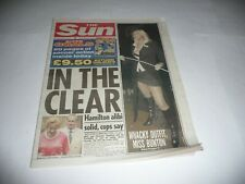 More details for the sun newspaper (20/8/01) - emma bunton (of the spice girls) cover