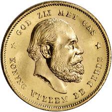 Netherlands Gold 10 Gulden (.1947 oz) - Willem III - BU - Random Date