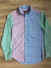 Vineyard Vines XS Men's Tucker Shirt Slim Fit Multicolored Plaid Button Front
