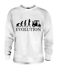 GOLF CART EVOLUTION OF MAN UNISEX SWEATER TOP GIFT SPORT GOLFER
