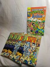 GRIM JACK #26 (NM) 4 Copies Teenage Mutant Ninja Turtles Archie Turtle Xover