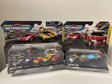 Lot 2 Micro Machines Chase Series 1 Super Cars Paso Fino,GT-7 New!Rare!