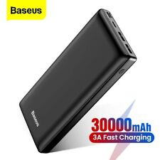 Power bank 30000mAh portable external battery fast charger smartphones