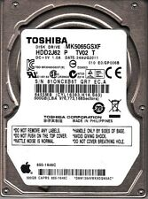 Toshiba MK5065GSXF HDD2J62 P TV02 T Apple: 655-1646C 500GB 2.5 SATA 7430