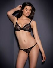 AGENT PROVOCATEUR LARETTA BRA AND THONG SET SIZE 34C SMALL / AP2 / 8-10 BNWT