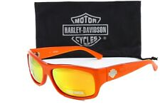 Harley Davidson men's sunglasses HDX833 OR-27 Orange 61mm NWT