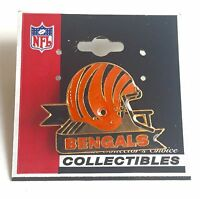Cincinnati Bengals Metal Helmet Pin  Vintage 1988 Peter David NFL Licensed Item