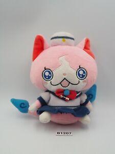"Yokai Watch B1207 Sailornyan Bandai Yorozumart Limited Plush 6"" Toy Doll Japan"