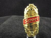 Vintage SPORT Head Badge Bicycle Emblem