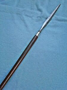 antique 19thc Javanese Java tombak spear sword Indonesian knife dagger Asian