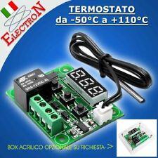 W1209 TERMOSTATO DIGITALE 5V o 12V  CONTROLLO TEMPERATURA -50°C 110°C RELE' BOX