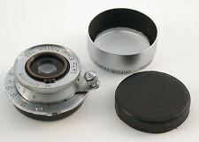 Elmar 3,5/35 3,5cm 35mm F3,5 Leitz LEICA M39 M-39 LTM no. 532478 1939 + HOOD !