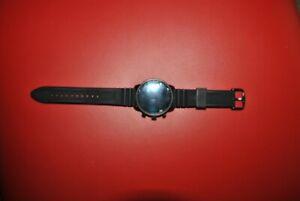 Fossil Men's Gen 4 Explorist Hr Silicone Smartwatch Black