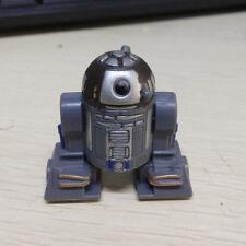 "Super Rare 1.5""  Mini Star Wars Astromech Droid R2D2 Figure Toy Boy 2001"