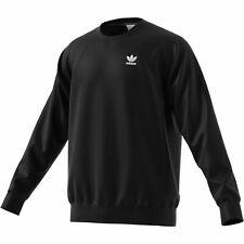 Adidas Essential Crew Sweatpulli Herren Sweatshirt schwarz 35098