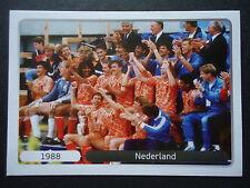 Panini 528 Jubel Team Niederlande 1988 EM 2012 Poland - Ukraine