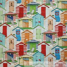 BonEful Fabric FQ Decor Outdoor Upholstery Beach House Flag Hut Ethnic Red Blue