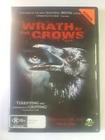 Wrath Of The Crows DVD_Tiffany Shepis R18 + Horror Movie R4 Monster Pictures