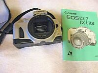 Canon EOS IX APS SLR Film Camera Body Only Instruction Book C24-5